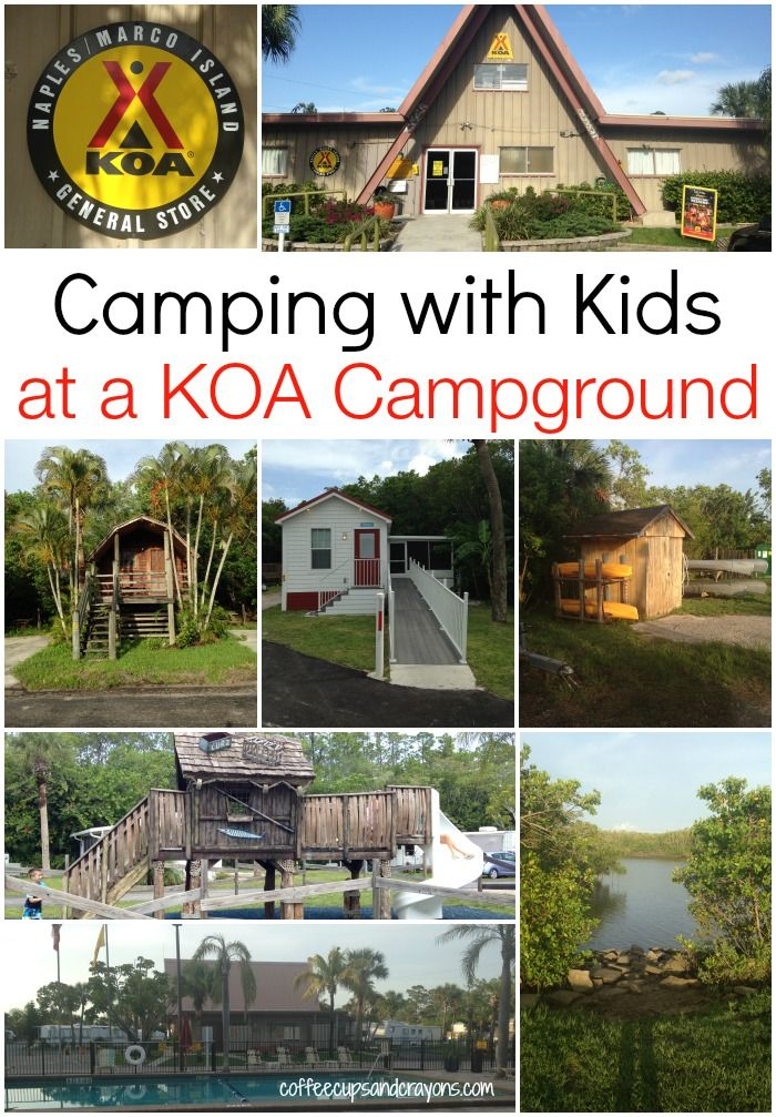 Camping with kids is so much fun at a KOA Campground! #campkoa