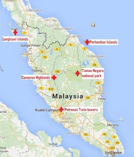 Malaysia Map: Best 25+ Map Of Kuala Lumpur Ideas On Pinterest