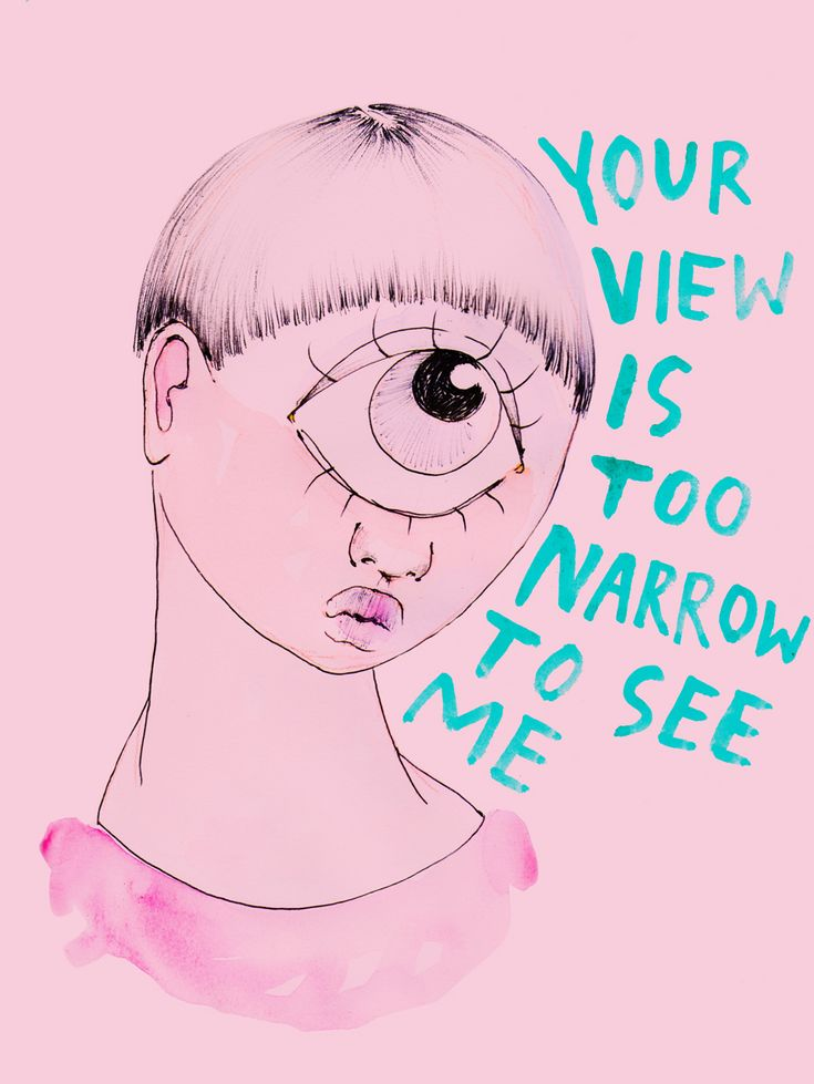 Don't let the narrow views of others define who you are.