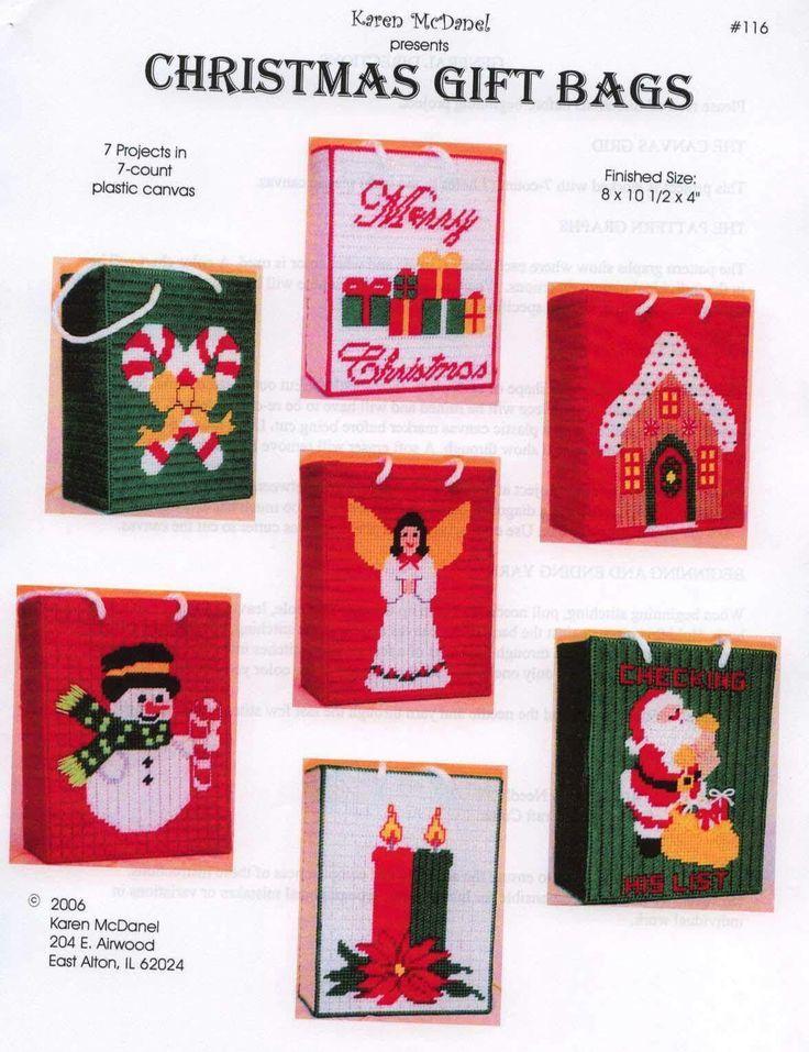 CHRISTMAS GIFT BAGS by KAREN McDANEL 1/8