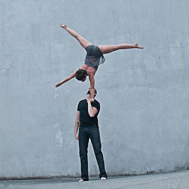 Circus Lab instructors Jason Waugh and Carmen Viney. #handtohand #duo #acrobatics #handstand #circuslab #onearm #circus #cirque #langley #circusschool #partneracro #partner #lift #balance #circusartistcirque #instagramfordancers #dance #tumbleflipsplit #dancersworldmcde #acro #blinkacro #circusartist #handstandsforshoutouts