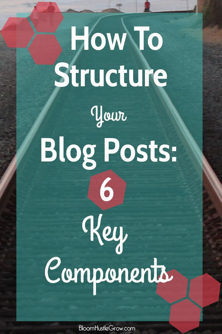 How To Structure Your Blog Posts: 6 Key Components