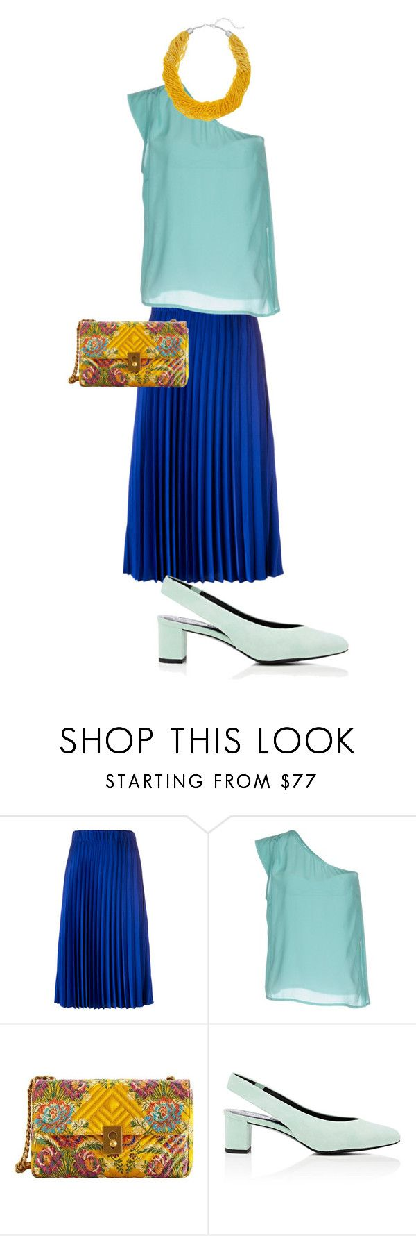 """""""цвет2"""" by sdelanodoma on Polyvore featuring P.A.R.O.S.H., Suoli, MANGO and Stella Luna"""