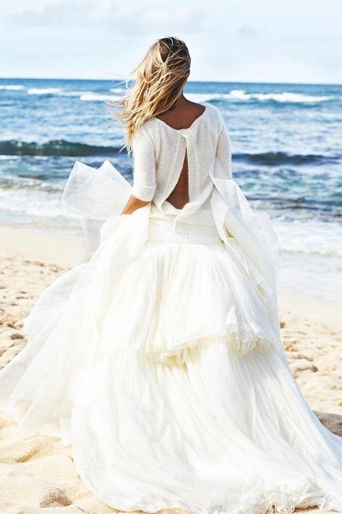 la-la-la-bonne-vie: Beach Wedding