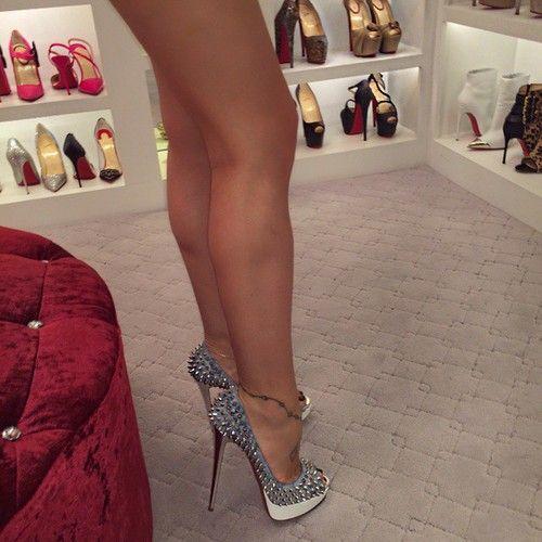 Wife stockings heels