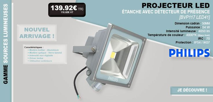 Best 25 projecteur lumiere ideas on pinterest for Fixture exterieur led