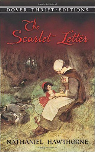 The Scarlet Letter (Dover Thrift Editions): Nathaniel Hawthorne | First published in 1850, The Scarlet Letter is Nathaniel Hawthorne's masterpiece and one of the greatest American novels. Its themes of sin, guilt, and redemption, woven through a story of adultery in the early days of the Massachusetts Colony, are revealed with remarkable psychological penetration and understanding of the human heart.  Hester Prynne is the adulteress, forced by the Puritan community to wear a scarlet letter A…