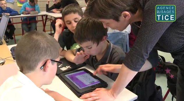 Création d'exercices de mathématiques sur tablettes tactiles @Usages_TICE #EcoleNumerique