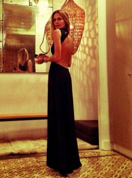 El look de Verónica Blume en la Gala contra el Sida 2013 vestida de H