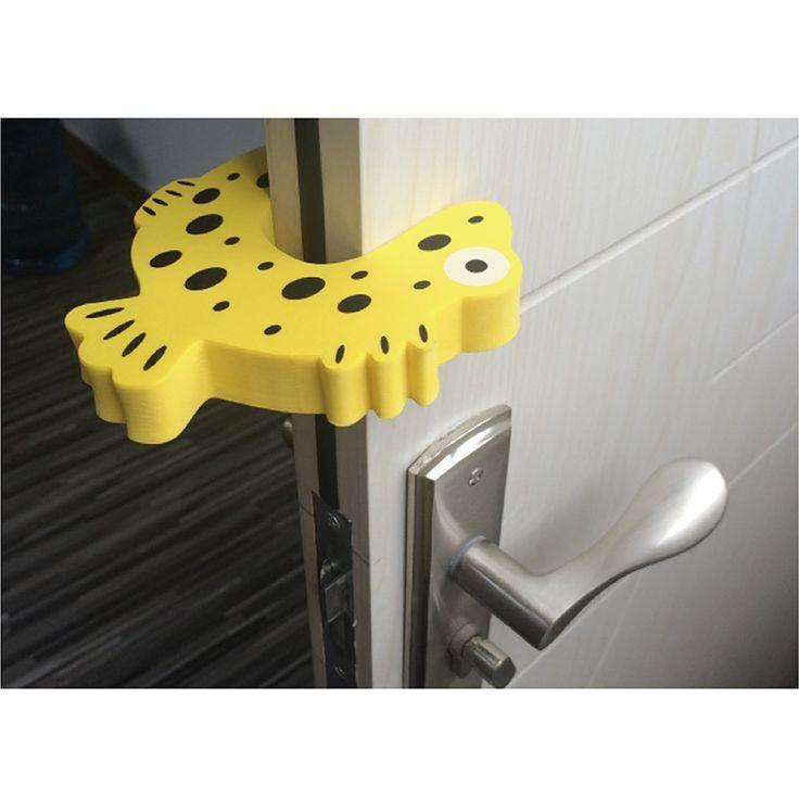 1 PCS Per Lot Children Safety Door Jammer Finger Corner Guard Child Kids Baby Safe Protector Door Stopper Cartoon