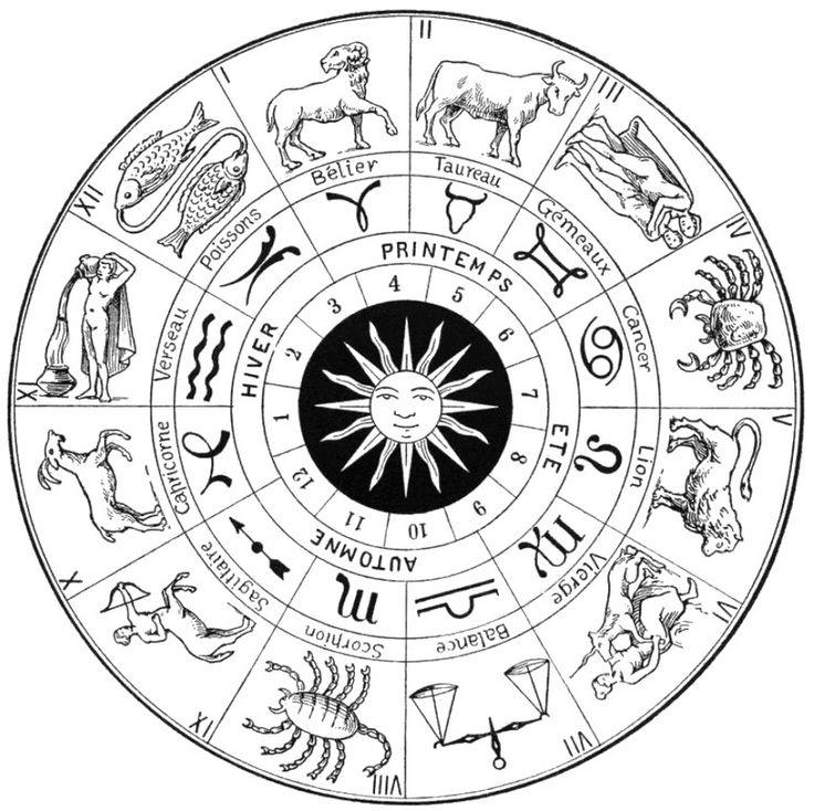 Kleuren voor volwassenen Astrologie