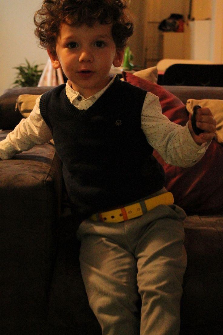 @tieups style! Bimbo felice col suo colore preferito:)