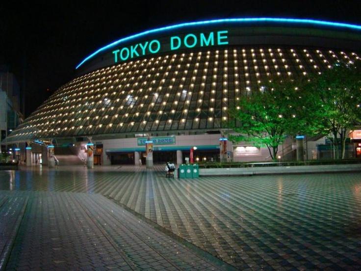 Shopping at Tokyo dome