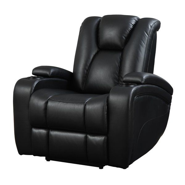 Packed With Functionality, This Recliner Has Push Button Power Recline And  A Power Adjustable Headrest. It Also Features Storage In The Armrests And  Scoop ...