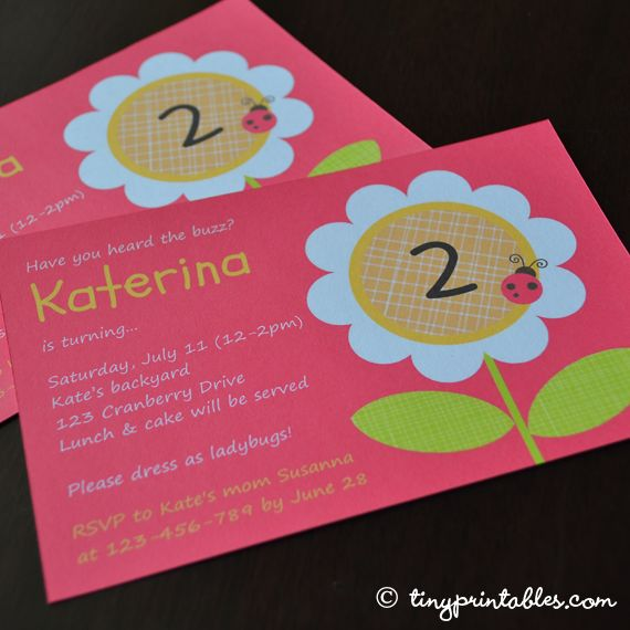 """Got inspiration from the """"lucky daisy"""" design at Tinyprints. $7.95"""