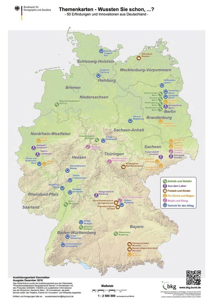 25 Karten, die dir genau erklären, wie Deutschland funktioniert – Kat Sch