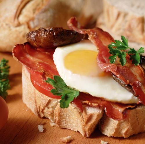 Easy eggy bread brunch sarnie