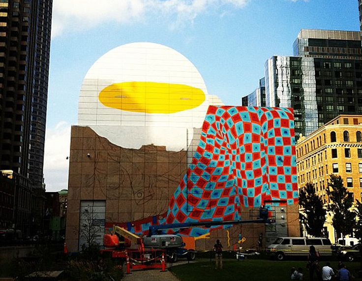 Os Gemeos in Boston: Boston Mural, Cities, Art, Contemporary Art, City, Urban Art