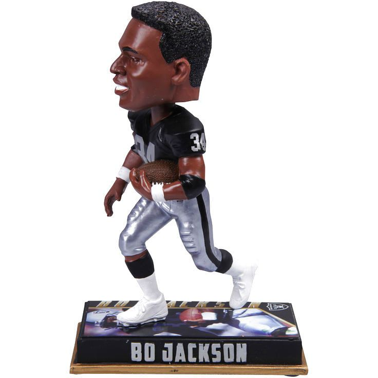 Bo Jackson Los Angeles Raiders Retired Player Bobblehead - $27.99