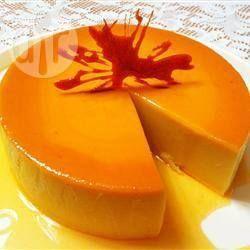 Flan de coco y queso @ allrecipes.com.mx