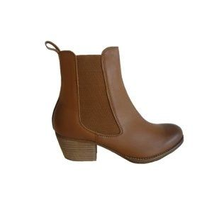 Diesels Ankle Boot in Tan Leather by Mollini