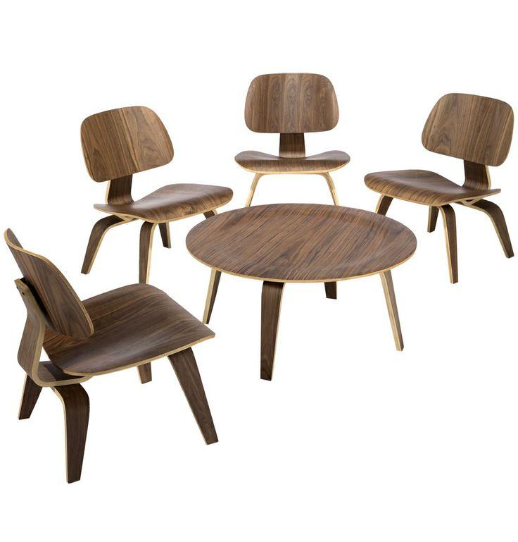 replica eames coffee table wood ctw by charles and ray eames matt blatt modernretro