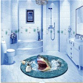 17 best ideas about 3d floor art on pinterest 3d flooring floor art and galaxy room for How do sharks use the bathroom