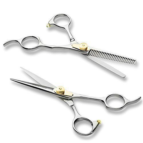 Barber Scissor Professional Hair Cutting Set Texturizing Thinning Shears NEW  #BarberScissor