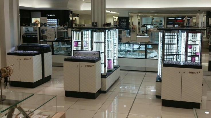 Amor Jewellery at Myer Adelaide Store.