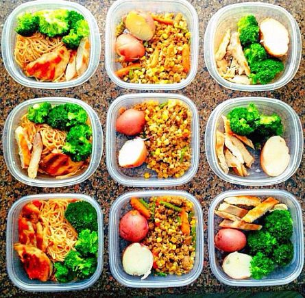Healthy lunches.  Prepare your meals so you don't eat crap.