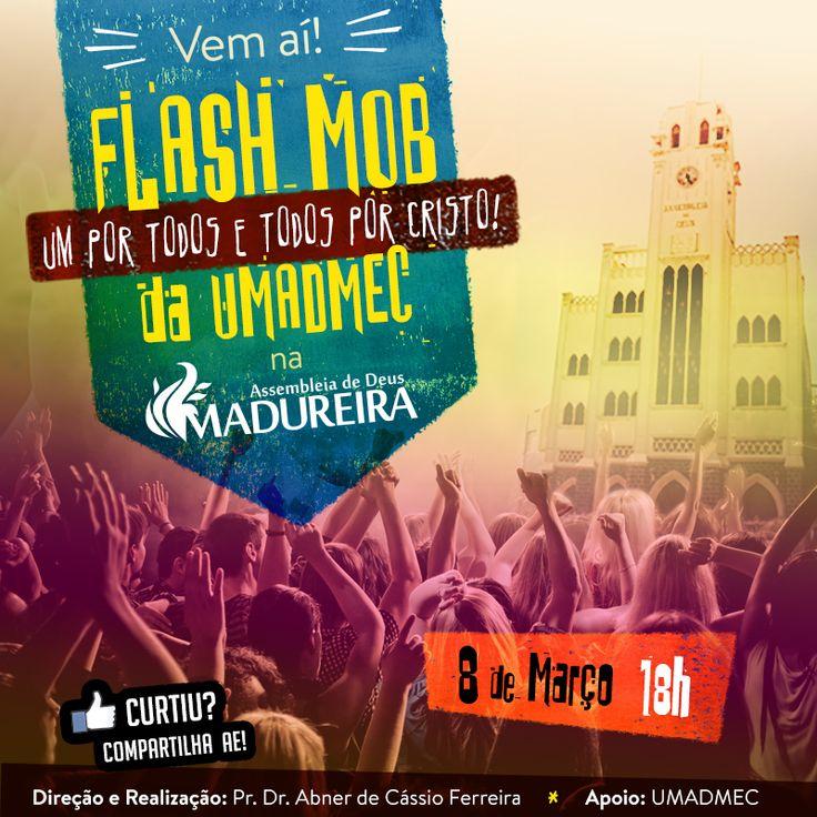 Arte p/ Facebook. Cliente: Igreja AD Madureira.
