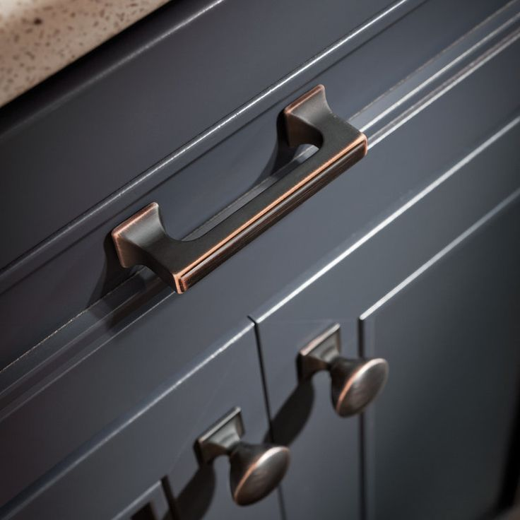 Liberty Hardware P20383-VBC-C Bronze with Copper Highlights Cabinet Pull - Build.com