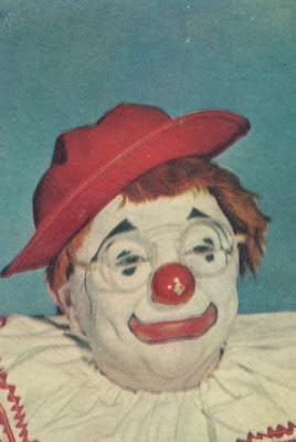 Vintage 1940s Clown Images - gruesome & beautiful #16