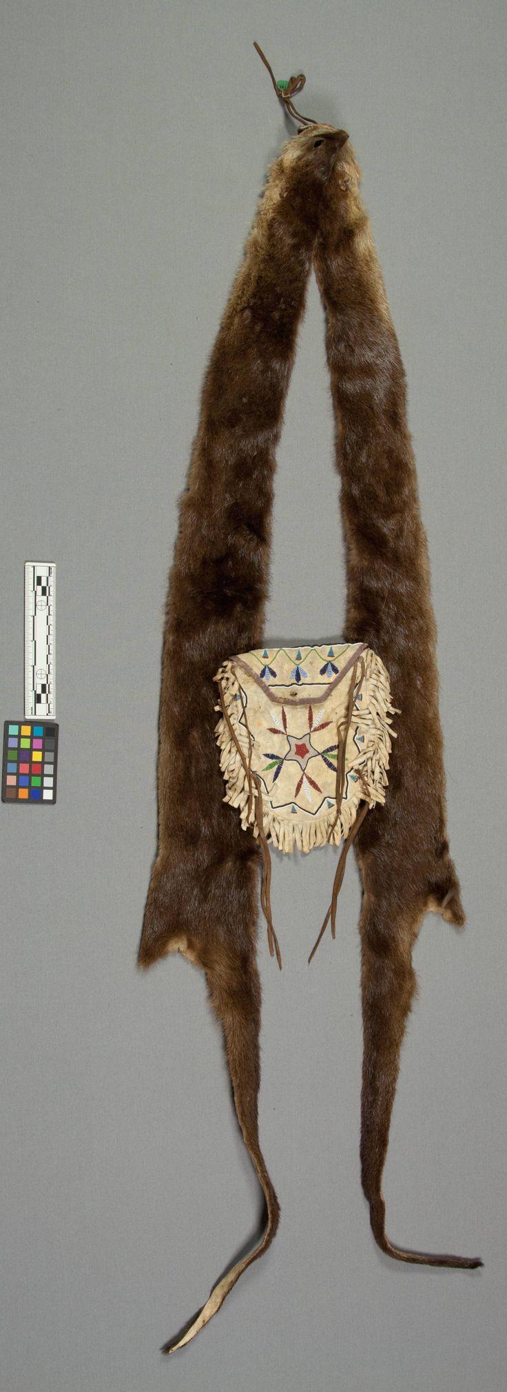 Yankton bandolier bag. NMNH