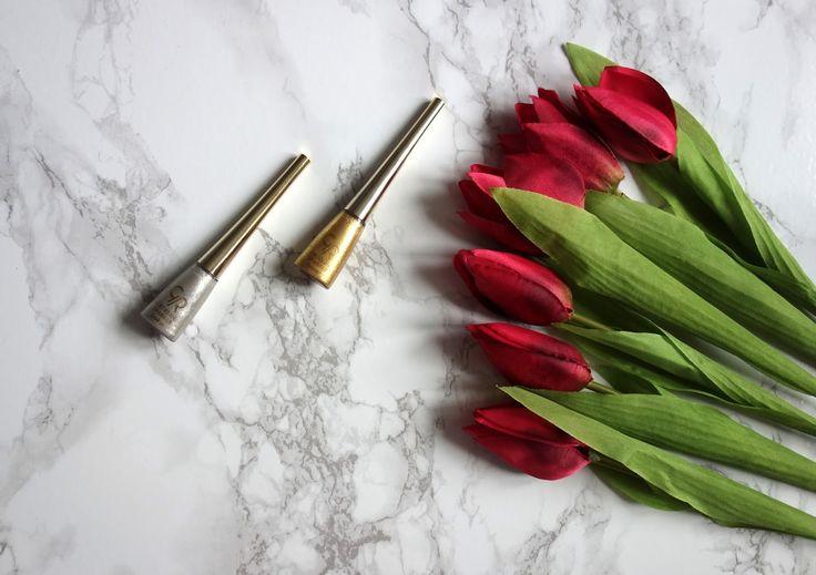 Golden Rose Extreme Sparkle Eyeliner   Recenzja dwóch odcieni