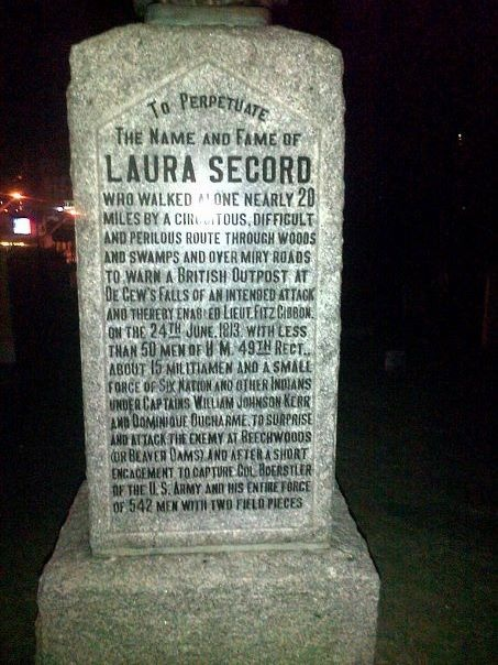Laura Secords Tomb Stone