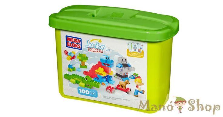 Mega Bloks Junior Builders Szárnyaló képzelet doboz 100db-os (CYR23)