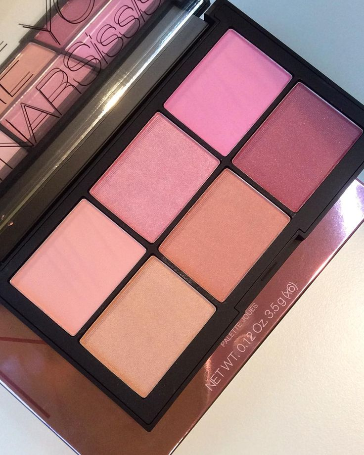 Nars Unfiltered-2 blush palette