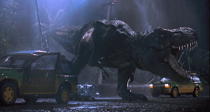 This image is from Jurassic Park (Steven Spielberg, 1993). With this image I want to make reference to the special effects from the movies. Nowadays it's difficult to find a movie without any special effects and tweaks by computer, but this makes the film more spectacular for the viewers.