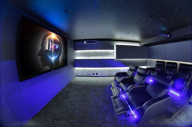 The Most Beautiful Home Cinemas Around The World Most Beautiful