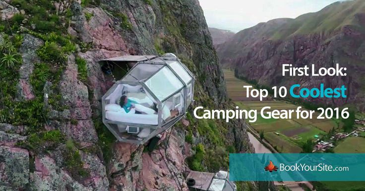 The 10 Best Cool Camping Gadgets of 2016. Future Gear for RV's &