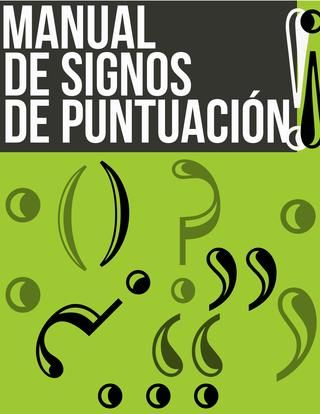 Manual de Signos de Puntuacion