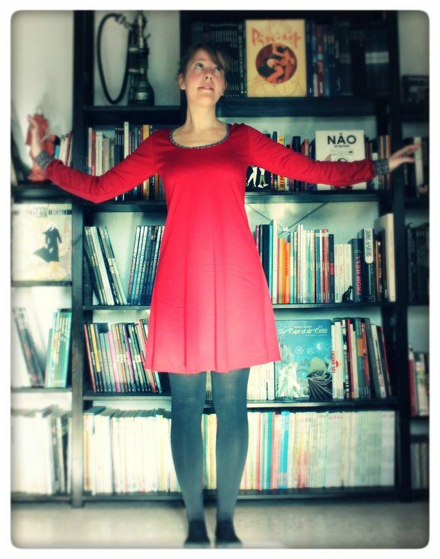 une robe Plantain, pour un défi
