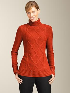 Talbots - Cashmere Cable Turtleneck | | ApparelTurtleneck 186 75, Classic Cable, Cable Turtleneck, Cashmere Cable, Products