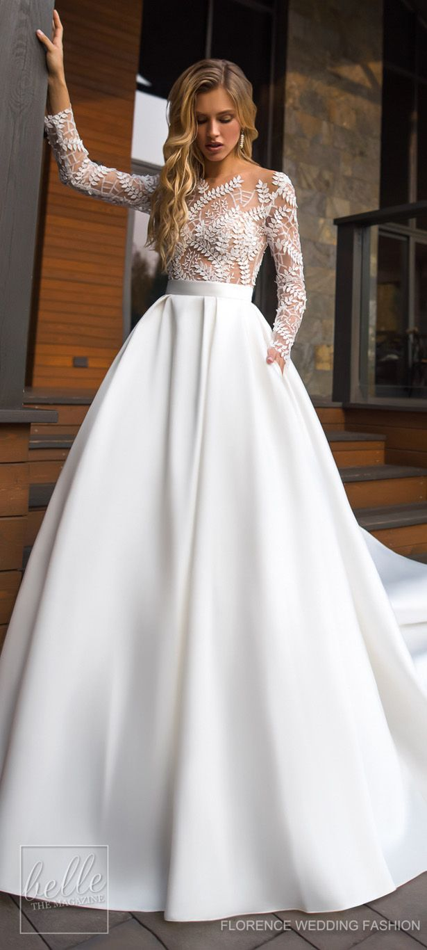 Stunning Winter Wedding Dresses With Images Winter Wedding Dress Ball Gown Wedding Dress Wedding Dresses Unique