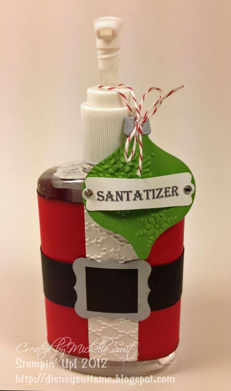 Suitably Stamped Reindeer: Ho Ho Santatizer