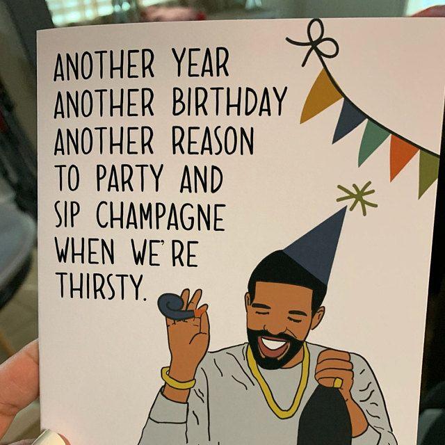 Cardi B Okurrr Inspired High Quality Happy Birthday Card Etsy Birthday Quotes For Him Happy Birthday Cards Birthday Cards