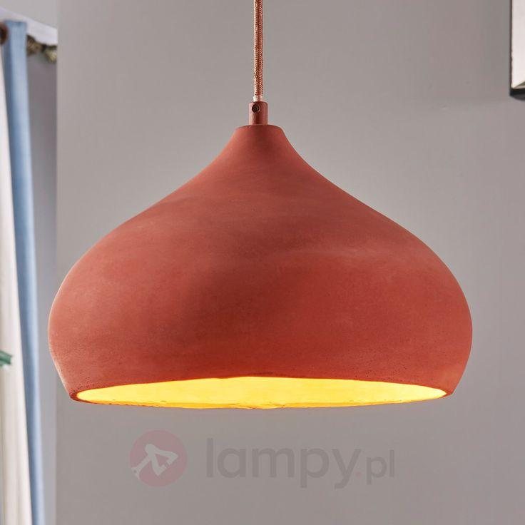 Piękna lampa wisząca Fiona, terracotta bezpieczne & wygodne zakupy w sklepie internetowym Lampy.pl.