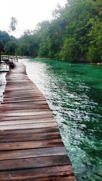"""Take it step by step"" - Ora Beach, Maluku - Indonesia"