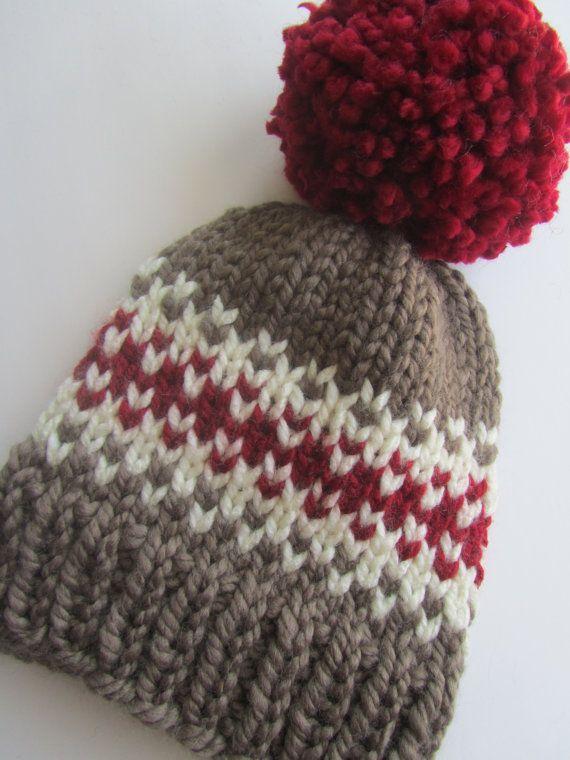 82 best Loom Knitting ~ Hats images on Pinterest   Weaving ...